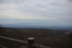 霧がかった景色