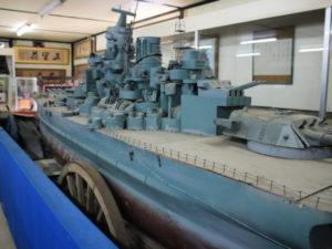 戦艦大和の大きい模型