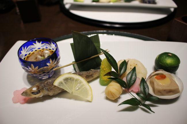 霧島切子のうつわ、前菜