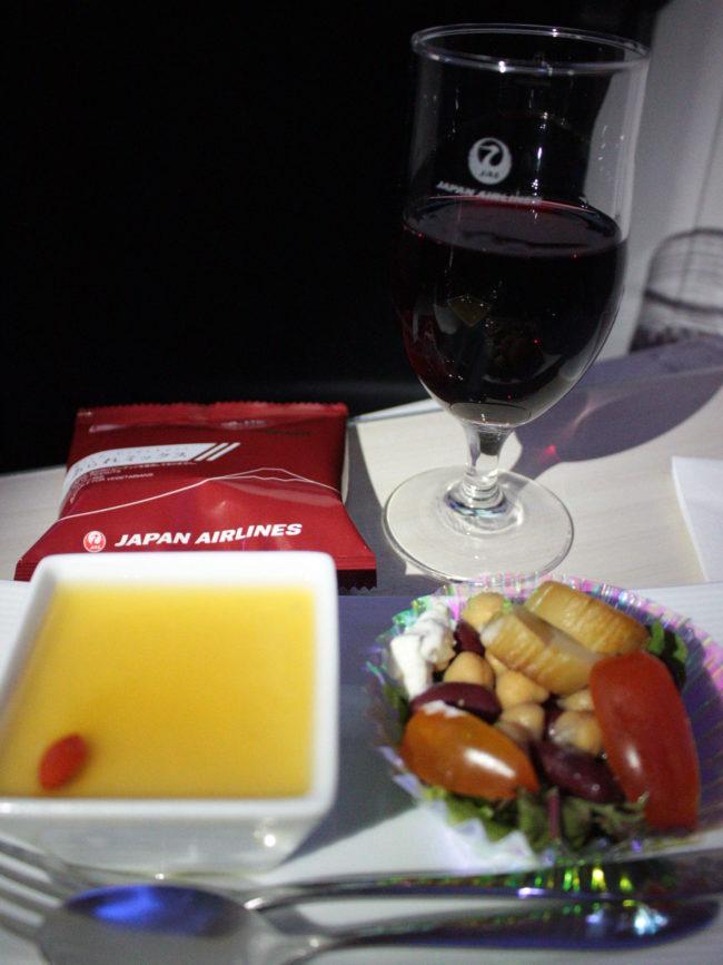機内食、夜食
