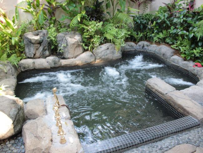 ジャグジー付温泉