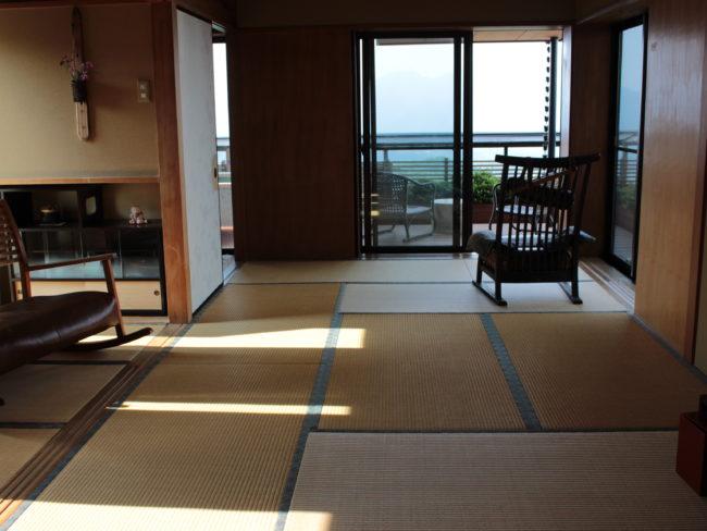 部屋と景色